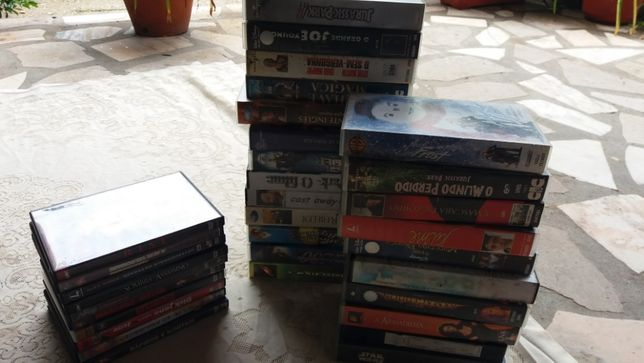 Cds/Video Cassete VHS - Filmes