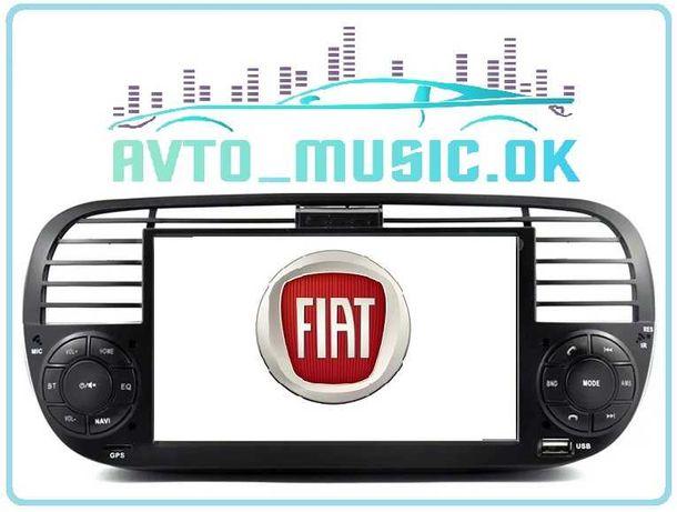 Магнитола FIAT 500, Android, USB, GPS