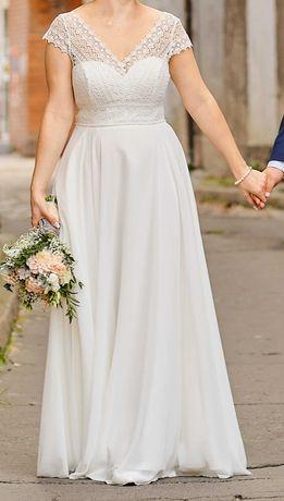 Suknia ślubna boho 38-40