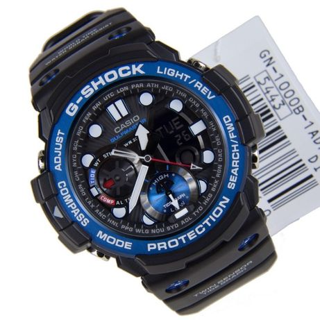 Часы Casio G-Shock Gulfmaster GN-1000B-1A 28