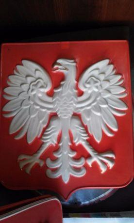 Godło Polski / Orzeł PRL z aluminium