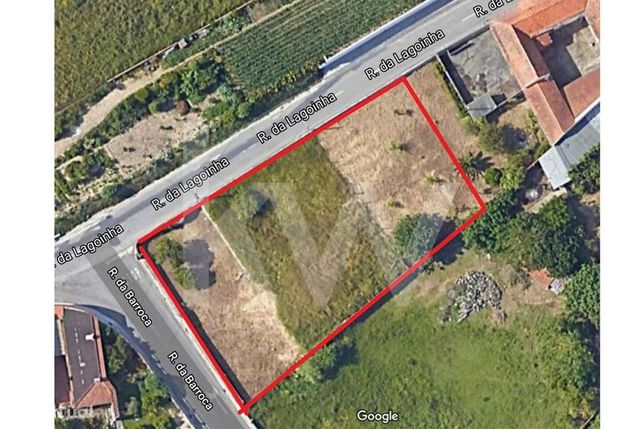 Terreno de 1360 m2 situado na Carvalheira, em Ílhavo, com 2 frentes, p