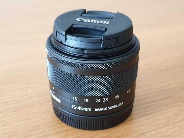 Lente Canon EF-M 15-45mm f/3.5-6.3 IS STM
