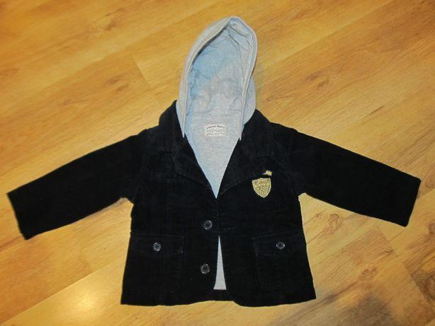 Ubranka dla chłopca - rozmiar 86-marynarka, koszula, bluza, kamizelka
