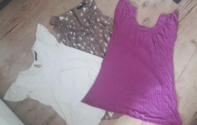 Ubrania ciążowe bawełniane w rozmiarze M-L