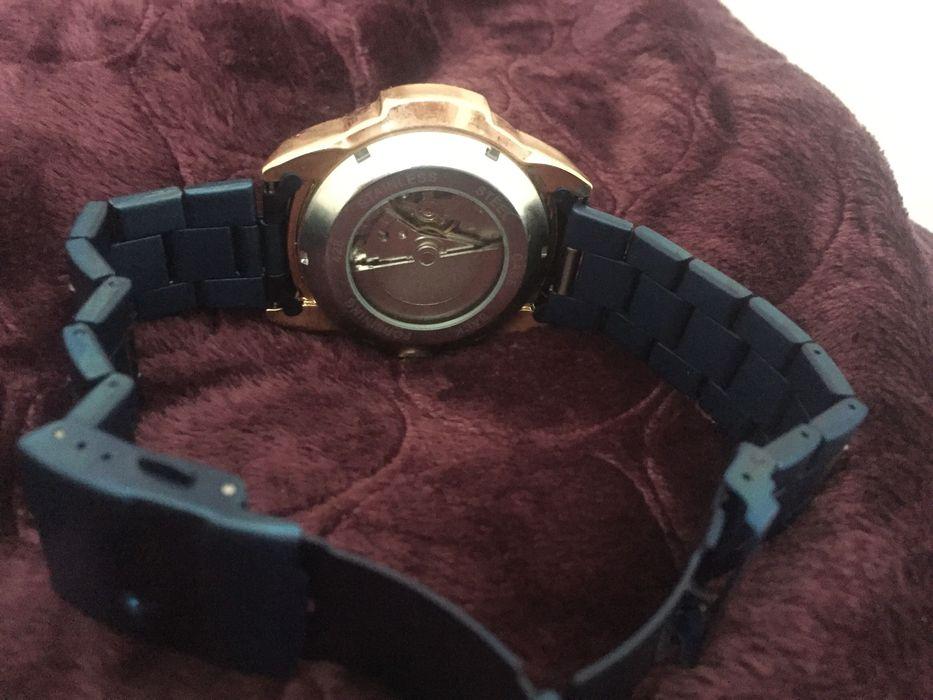 Часы механические с автоподзаводом Forsining Blue Луцк - изображение 1