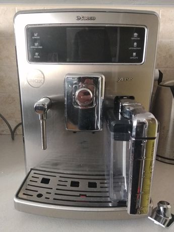 Ekspres do kawy Saeco Xelsis, spieniacz mleka