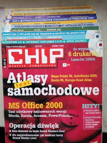 Magazyn komputerowy CHIP + CD, Rocznik 1999 (nr 7-12)