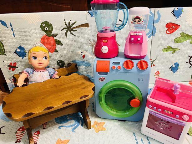 За ВСЕ! Набор игрушек для девочки disney cтиральная машина блендер