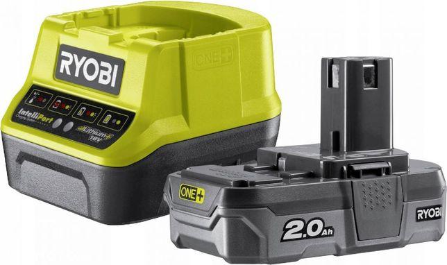 RYOBI RC18120-120 Akumulator 2,0Ah + Ładowarka 18V