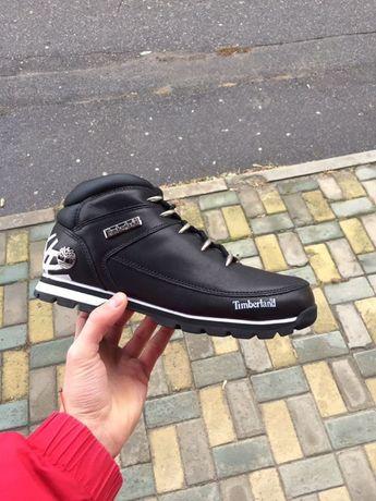 Timberland Eurosprint Black ботинка, обувь, зима, nike, adidas