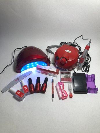 Стартовый набор для маникюра KODI Professional с лампой SUN 1 48W