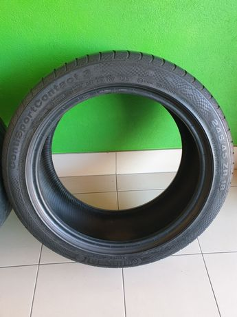 Opony Continental Sportcontact3 Runflat 245/45/18