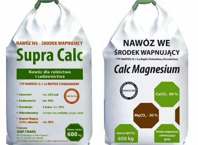 Wapno granulowane kredowe magnezowe weglanowe