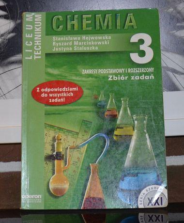 Chemia 3 Zbiór zadań. Liceum,Technikum.Hejwowska, Marcinkowski