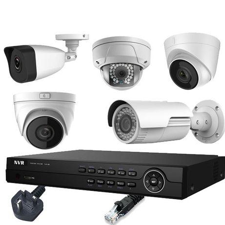 Instalações de videovigilância e alarmes