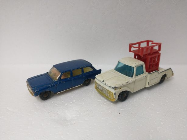 Stare Husky matchbox Ford zephyr 6 wagon i f350 Truck