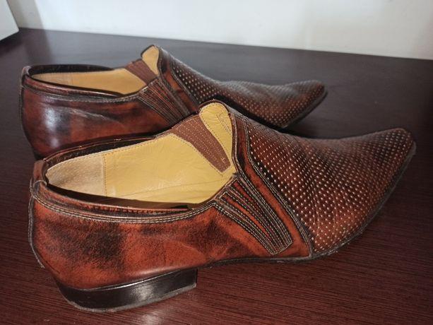 Итальянские туфли GOOD MAN, из натуральной кожи