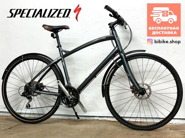 Городской велосипед Specialized Globe noвая трансмиссия . Гибрид Trek