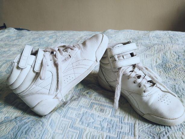 Оригинал! Кожаные кроссовки Nike стелька 18 см