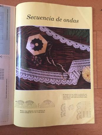 revista crochet antigas