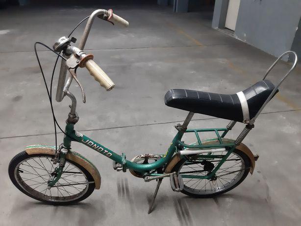 Bicicleta antiga dobravel Vilar Janota