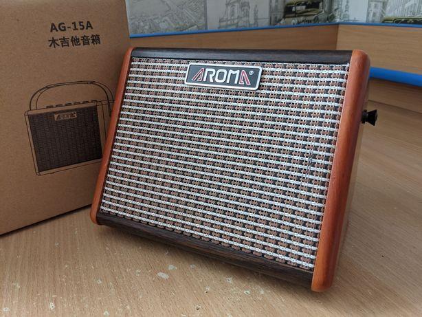 Комбоусилитель Aroma AG-15A для акустической гитары