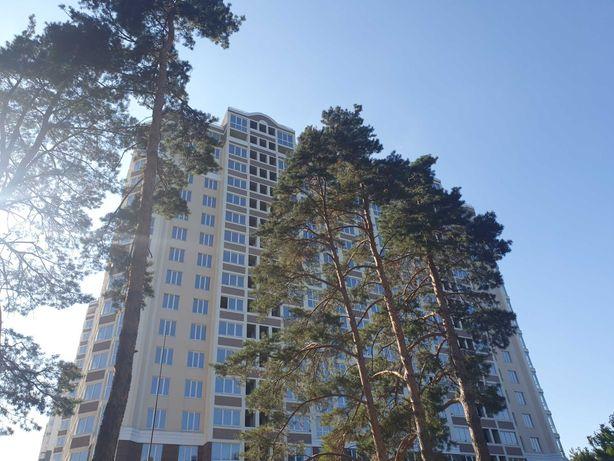 Велика однокімнатна квартира з документами , вид на ліс