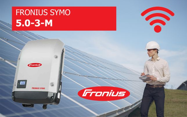 Falownik Fronius SYMO 5.0-3-M WiFi Inwerter KURIER