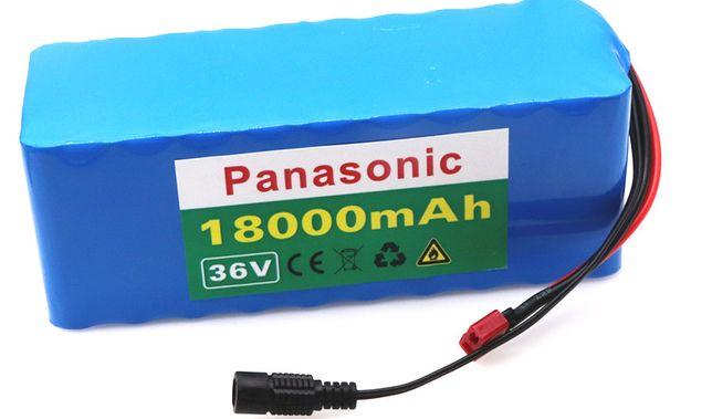 akumulator bateria li lion do roweru PANASONIC 36v 18000mah
