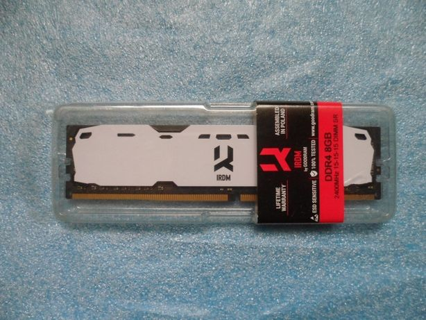 Оперативна пам'ять DDR4 GOODRAM Iridium White 8 Gb 2400 MHz