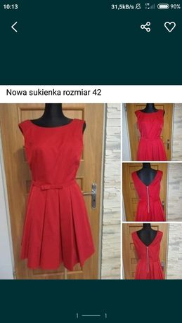 Nowa sukienka bez metki