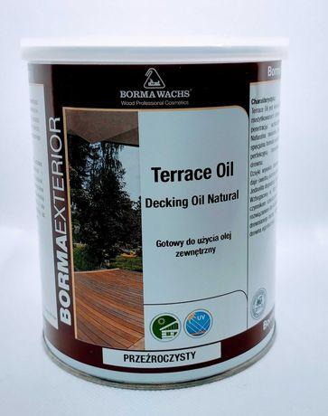 Olej do tarasów drewnianych Borma Wachs