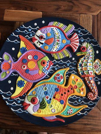 Prato decorativo Cerámica Marquez