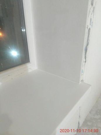 Откосы минеральные на окна и двери