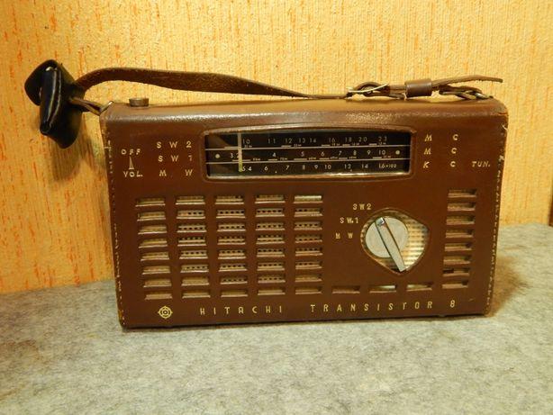 """Радиоприёмник """" Hitachi WH-859D """" Рабочий. Состояние."""