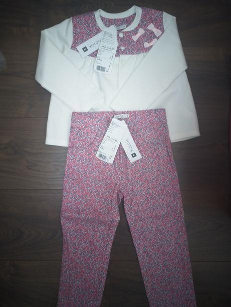 Piekny komplet zestaw Wójcik bolerko i spodnie r.98
