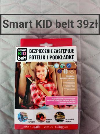 Smart kid belt to urządzenie bezpieczne przewożenie dzieci pasy auto