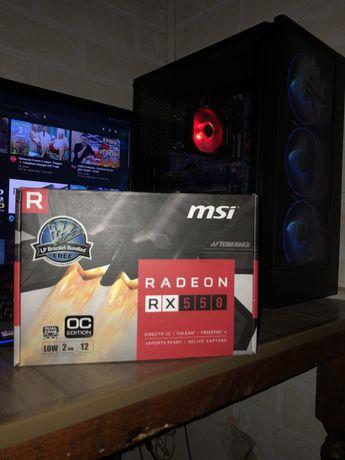 Продам или обменяю видео карту RADEON RX550
