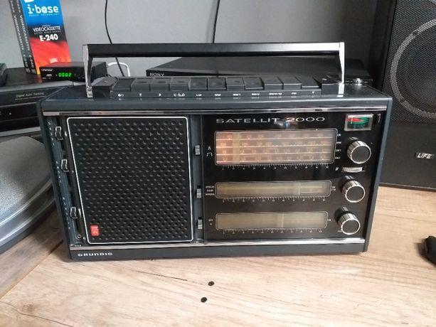 Radio Grundig Satellit 2000 gratka dla kolekcjonera!!!