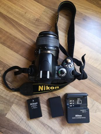 Nikon D40 e lente 18-55mm