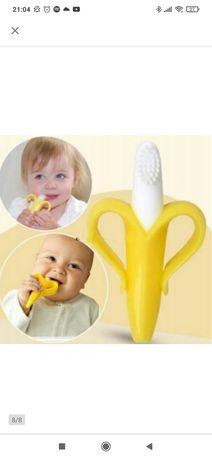 Gryzak szczoteczka treningowa dla niemowląt ząbkowanie