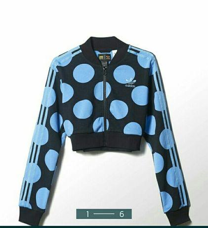 Олимпийка Adidas. Adidas Pharrell Williams. Укороченная кофта Adidas.