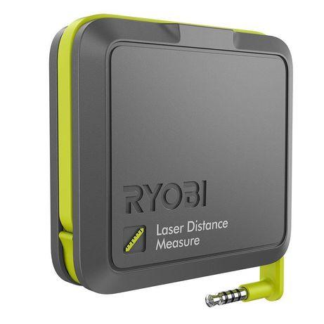Dalmierz laserowy do smartphoneRyobi Phone Workslaser distance measu