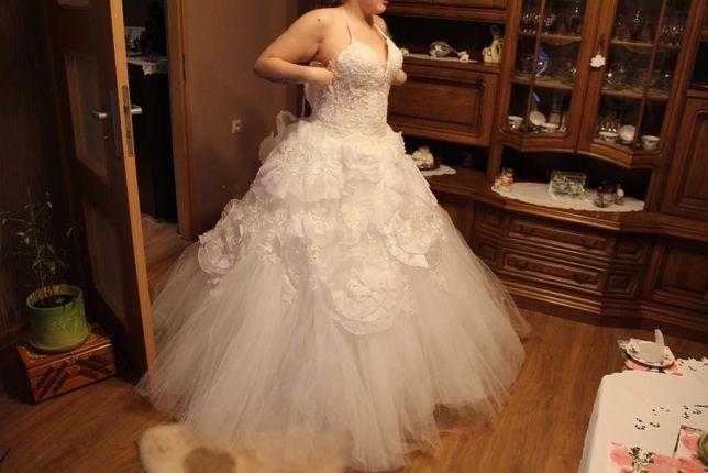 Suknia ślubna dla księżniczki rozmiar 38-40