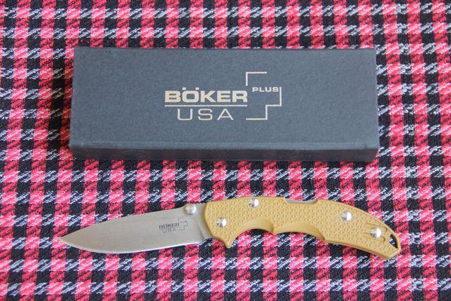 Нож складной Boker Plus Patriot coyote (USA)