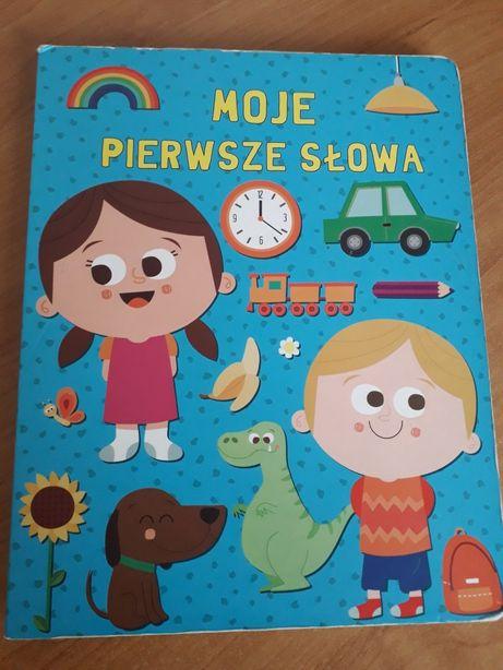 Duża Książka Bajka A4 Edukacyjna 'Moje Pierwsze Słowa'