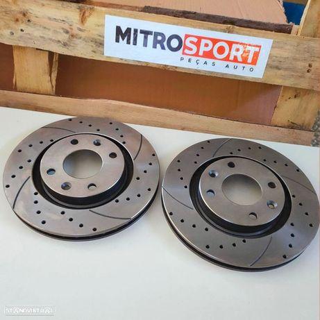 Discos de travão desportivos TA- Technix BMW Serie 3 E46 300mm   Mitrosport