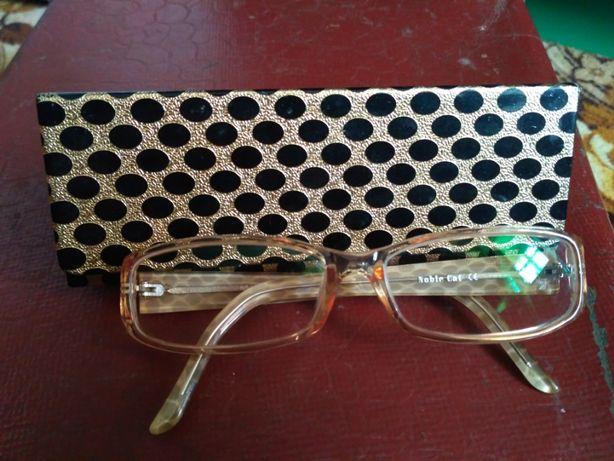 очки новые компьютерные без увеличения с футляром