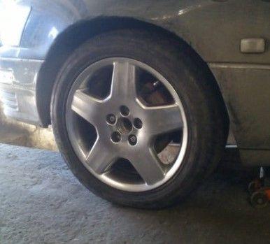 резина от Lexus!